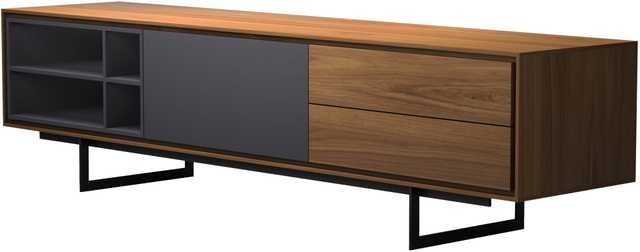 "Baxter Media Cabinet TV Stand for TVs up to 77"" - AllModern"