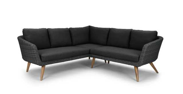 Ora Slate Gray Sectional - Article