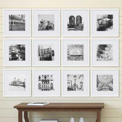 Noland 12 Piece Matted Picture Frame Set - white - Wayfair