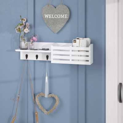 Horizontal Wall Mounted Coat Rack - Wayfair