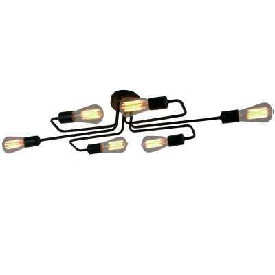 Kinnerly 6-Light Semi Flush Mount - AllModern