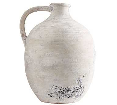 Artisan Vase, White, XL Jug - Pottery Barn