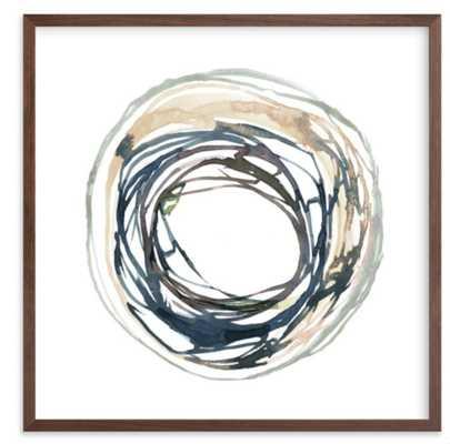 "Soma 16"" x 16"" Walnut Wood Frame - Minted"