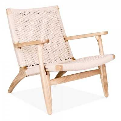 C2A Designs Armchair in Natural - Wayfair