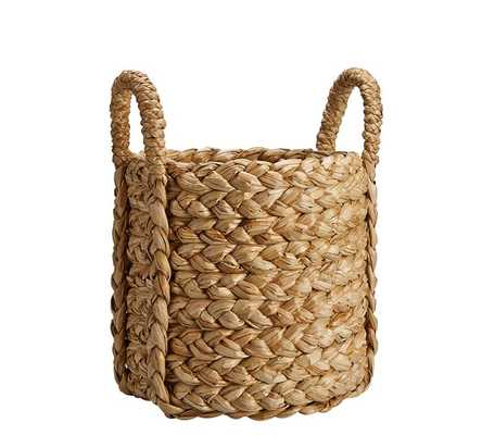 Beachcomber Handwoven Seagrass Round Handled Baskets - Large Tote - Pottery Barn