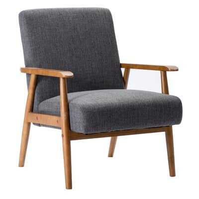 Gray Overbey Armchair - Wayfair