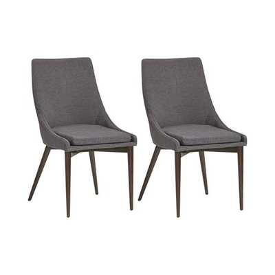 Cade Solid Wood Upholstered Dining Chair - AllModern