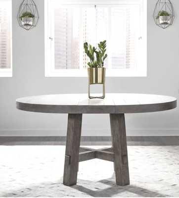 Tapscott Extendable Dining Table Round - Wayfair