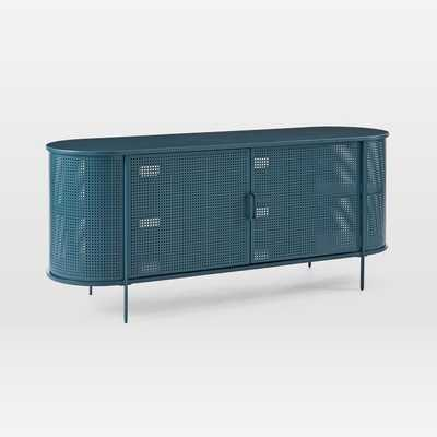 Perforated Metal Media Console - West Elm