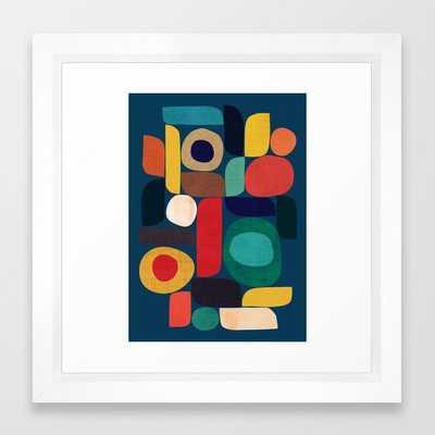 Miles and miles Framed Art Print - Society6