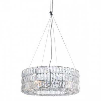 Jena Ceiling Lamp Chrome - Zuri Studios