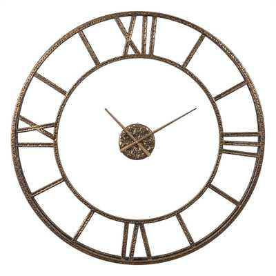 Mylah Wall Clock - Hudsonhill Foundry