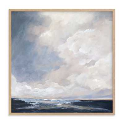 Last Of The Light Art Print - 30x30 - Natural Wood Frame - Minted