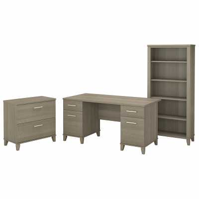 Kirchoff Desk 3 Pieces Set - Wayfair