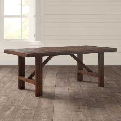 Hurley Acacia Solid Wood Dining Table - Birch Lane