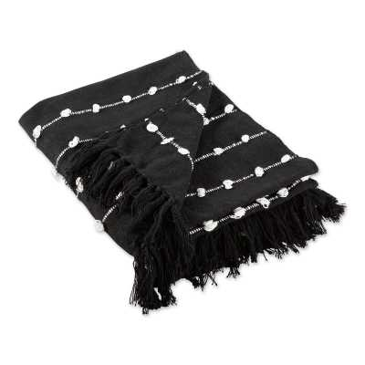 Vosgeparan Stone Woven Loop 100% Cotton Throw - Wayfair