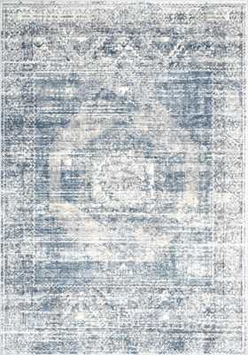 "Jayla Barbed Iris Medallion Rug - 7'10""x10'10"" - Loom 23"