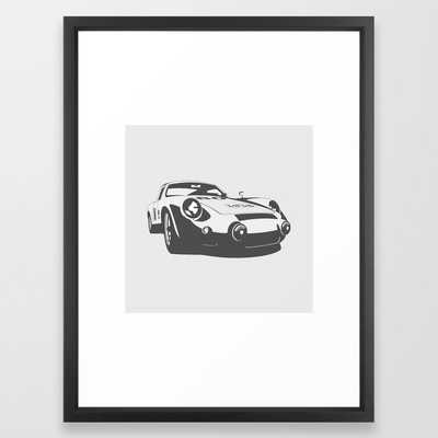 Porsche 356 Framed Art Print - Society6