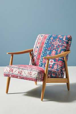 Anatolia Rug-Printed Armchair - Anthropologie