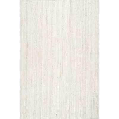 Burrillville Hand-Tufted Off-White Area Rug - Birch Lane