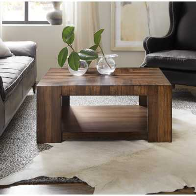 Occasional Rectangle Coffee Table with Tray Top - Wayfair