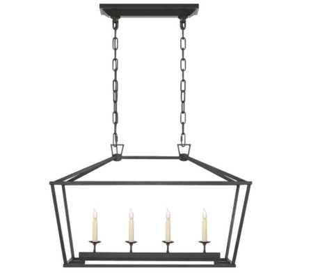 Darlana Small Linear Lantern - Circa Lighting