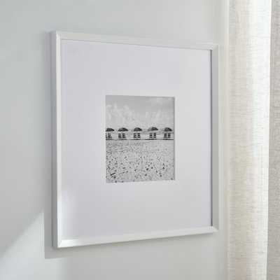 Icon 11x11 White Picture Frame - Crate and Barrel