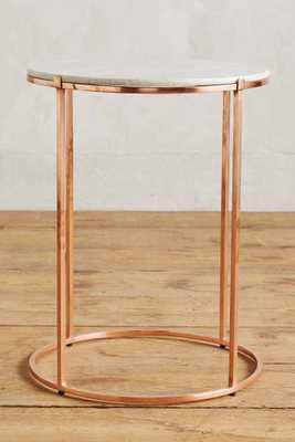 Leavenworth Marble Side Table - Anthropologie