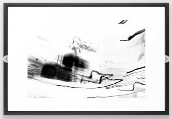 abstract light photography Framed Art Print - Society6