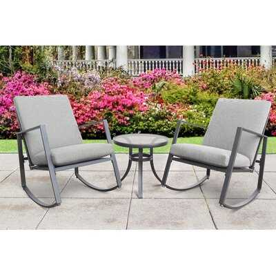 Chizoba 3 Piece 2 Person with Cushions - Wayfair
