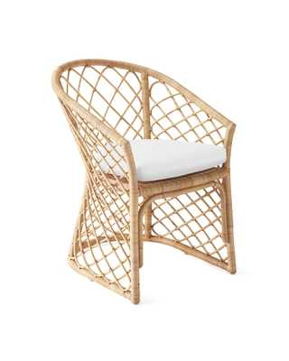 Avalon Dining Chair - Natural - Serena and Lily