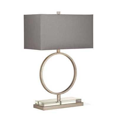 SLENDER CIRCLE TABLE LAMP - Shades of Light