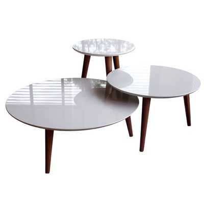 Enrique 3 Piece Coffee Table Set - AllModern