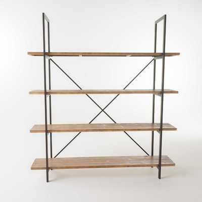 Caitlyn Etagere Bookcase - Wayfair
