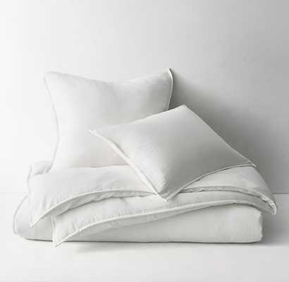 WASHED COTTON GAUZE DUVET COVER - RH Teen