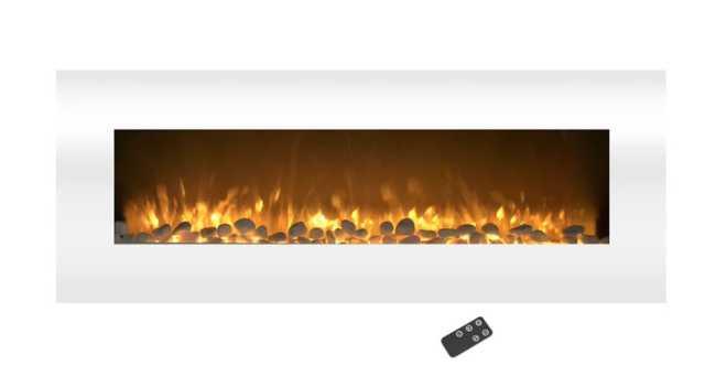 Lockport Pearl Wall Mounted Electric Fireplace - Wayfair
