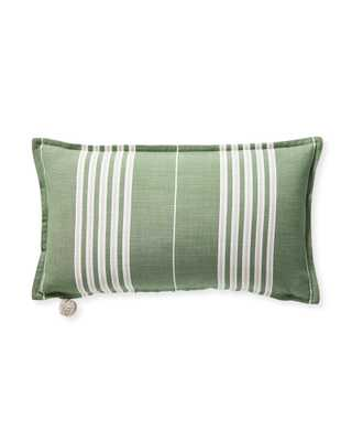 """Perennials® Lake Stripe Pillow Cover, 12"""" x 21"""" - Serena and Lily"""