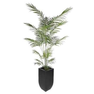 Artificial Areca Palm Tree Floor Plant in Planter - Wayfair
