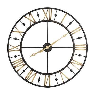 Chateau Betton Clock - Black - Ballard Designs