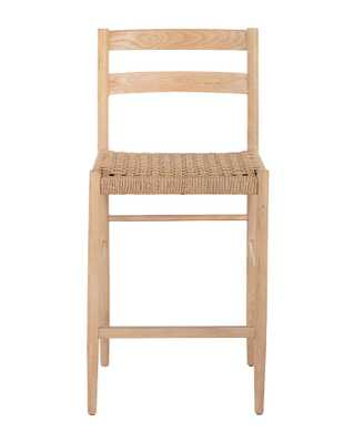 ELOISE WOVEN COUNTER STOOL - McGee & Co.