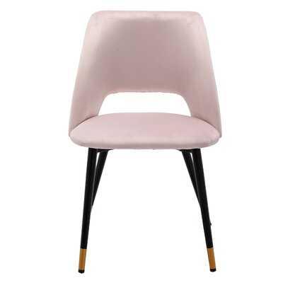 Murtaz Velvet Upholstered Side Chair (Set of 2) - Wayfair