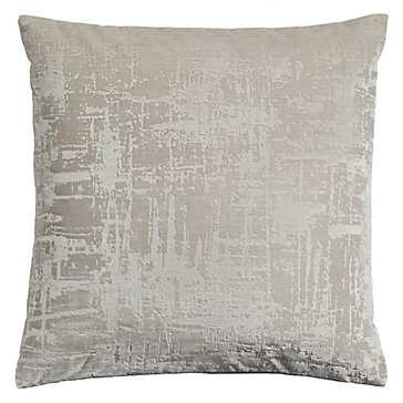 "Odeon Pillow 20"" - Ivory - Z Gallerie"