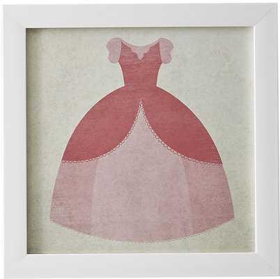 Seaham Gown Princess in Pink Framed Art - Wayfair