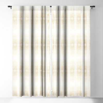 "DECO GOLD Blackout Window Curtain, pair - 96"" - Wander Print Co."