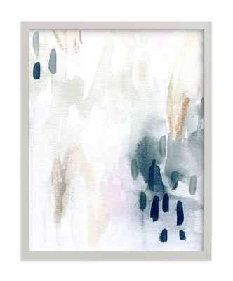 ever softly - 11x14 - light gray wood frame - Minted