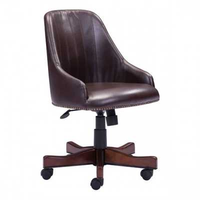 Maximus Office Chair Brown - Zuri Studios