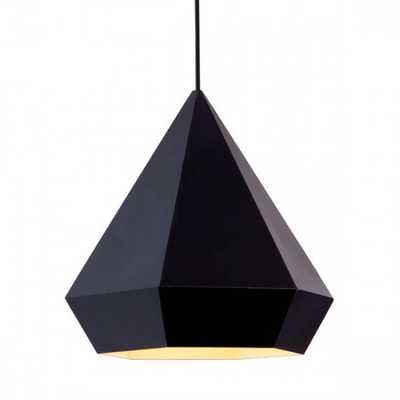 Forecast Ceiling Lamp Black - Zuri Studios