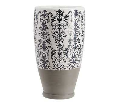 Lilian Vase, Large - Pottery Barn