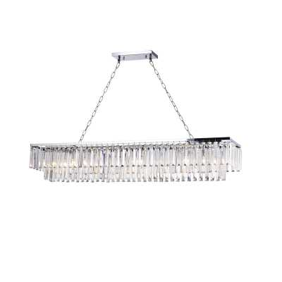 Allen 8-Light Kitchen Island Rectangle Pendant - Wayfair