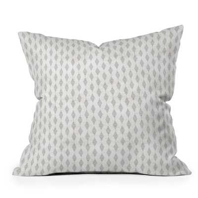 BOHO DIAMOND Throw Pillow with insert 18x18 (with insert) - Wander Print Co.